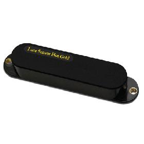 Lace 21091-02 Sensor Hot Gold Single Coil Pickup for Strat, Black (6.0K)