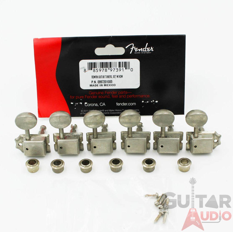 099-7214-000 Fender Road Worn Nickel Telecaster Guitar String Guide