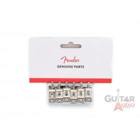 Genuine Fender Telecaster/Tele OR Stratocaster/Strat Hardtail Bridge Assembly