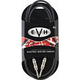 EVH Eddie Van Halen Series Premium Electric Guitar Cable, Straight Ends, 6' ft.