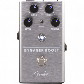 Fender Engager Boost Analog Guitar Effect Stomp Box Pedal