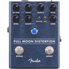 Fender FULL MOON DISTORTION Guitar Effect Stomp Box Pedal