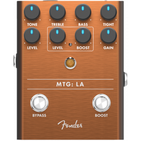 Fender MTG: LA Tube Distortion Analog Guitar Effect Stomp Box Pedal