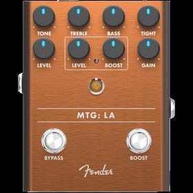 Fender MTG: LA Tube Distortion Analog Guitar Effect Stomp Box Pedal