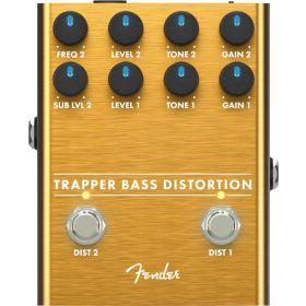 Fender Trapper Bass Distortion Effect Pedal - 023-4564-000