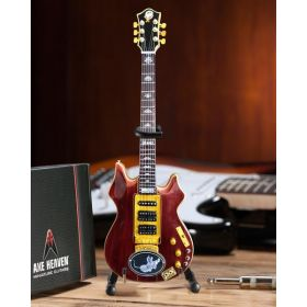 AXE HEAVEN Official Jerry Garcia Tiger Tribute MINIATURE Guitar Display Gift