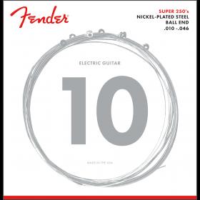 Fender Super 250R Nickel-Plated Steel Electric Guitar Strings Set, REGULAR 10-46