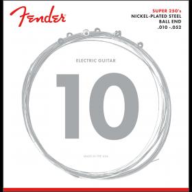 Fender Super 250RH Nickel-Plated Steel Electric Guitar Strings - REG/HEAVY 10-52