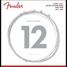 Fender Super 250H Nickel-Plated Steel Electric Guitar Strings Set - HEAVY 12-52