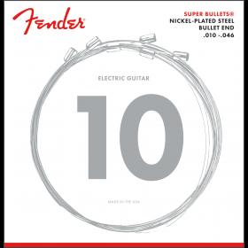 Fender 3250R Super Bullets Electric Guitar Strings Set - REGULAR 10-46