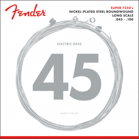 Fender 7250ML NPS Roundwound Bass Strings, Long-Scale MEDIUM LIGHT 45-100