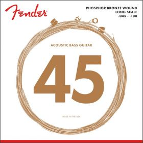 Fender 8060 LONG-SCALE Phosphor Bronze Acoustic Bass Strings - REGULAR 45-100