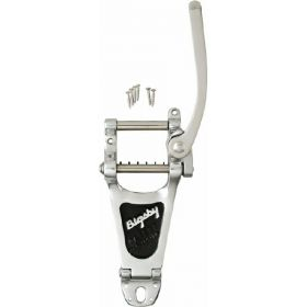 Bigsby B7 Arch-Top Gibson-Style Electric Guitar Vibrato Tailpiece Kit - CHROME