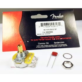 Genuine Fender CTS 250k Pot Split Shaft Guitar Volume/Tone Control Potentiometer