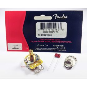 Genuine Fender 250K No Load Pot Split Shaft CTS Volume/Tone Knob Potentiometer