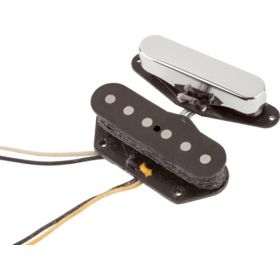 Genuine Fender Custom Shop '51 Nocaster Telecaster Tele Pickups Set - 0992109000