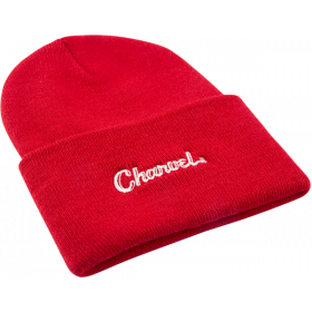 Genuine Charvel Guitars Logo Beanie Hat, Red, One Size fits Most