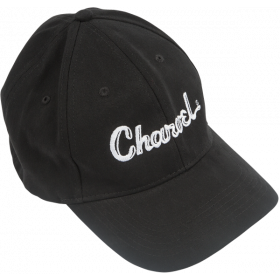 Charvel Guitars Toothpaste Logo Flexfit Hat, Black, L/XL LARGE/EXTRA LARGE
