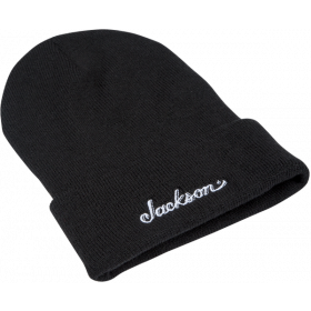 Jackson Guitars Logo Beanie Hat, Black, One Size fits Most