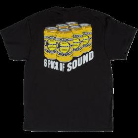 Charvel Guitars 6 Pack of Sound  Men's T-Shirt Gift, Black, M (MEDIUM)