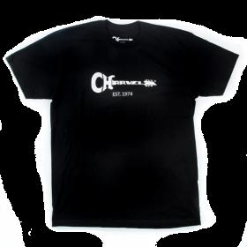 Charvel Guitar Logo Men's T-Shirt Gift, Black, L (LARGE)