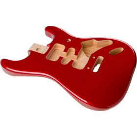 Genuine Fender Deluxe Series Stratocaster HSH Body Modern Bridge CANDY APPLE RED