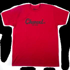 Charvel Guitars Toothpaste Logo Men's T-Shirt Gift, Red, M (MEDIUM)