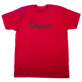 Charvel Guitars Toothpaste Logo Men's T-Shirt Gift, Red, XL (EXTRA LARGE)