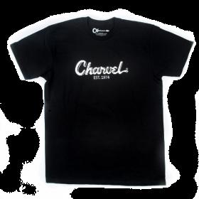 Charvel Guitars Toothpaste Logo Men's T-Shirt Gift, Black, S (SMALL)