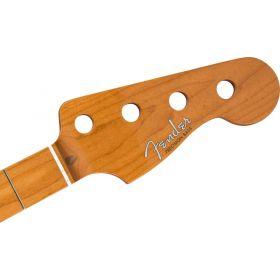 "Genuine Fender Roasted Maple VINTERA 50s Precision/P-Bass Neck, 7.25"", C-Shape"