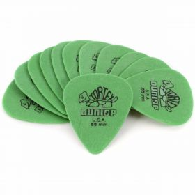 Dunlop Players Pack .88mm Green Tortex Turtle Guitar Picks Set - 12 Count 418P88