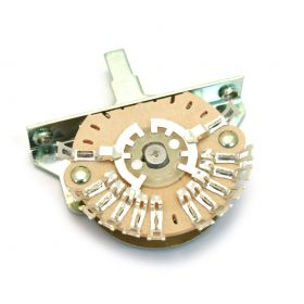 Genuine Fender 5-Position 12-Lug Oak-Grigsby Disc-Style Pickup Selector Switch