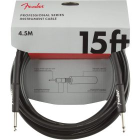 Fender Professional Series Electric Guitar Cable, Straight-to-Straight 15' ft