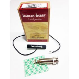 Barcus-Berry 1455-3 Insider Piezo Acoustic Guitar Pickup w/ Fas-Jac Output Jack
