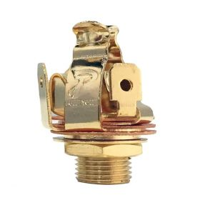 "Genuine PURE TONE 1/4"" Multi-Contact Gold STEREO TRS Output Jack - PTT2G"