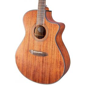 Breedlove Organic Wildwood Concerto CE Acoustic-Electric, Satin African Mahogany
