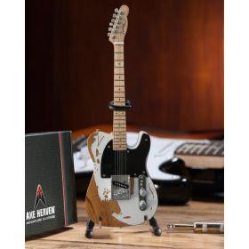 AXE HEAVEN Official Jeff Beck Fender Vintage Esquire Tele MINIATURE Guitar Gift