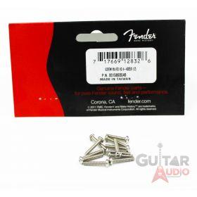 (12 Pack) Genuine Fender Vintage Stratocaster Intonation Screws - 001-5693-049