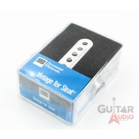 Seymour Duncan SSL-1 Vintage Staggered Single-Coil Strat Guitar Pickup - WHITE