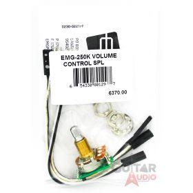 EMG 250k Solderless B159 Passive Volume Short SPLIT SHAFT Pot (6370.00)