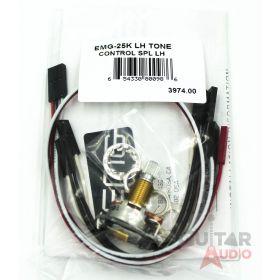 EMG 25k Solderless B124 Tone Left-Handed Control Pot Split Shaft (3974.00)