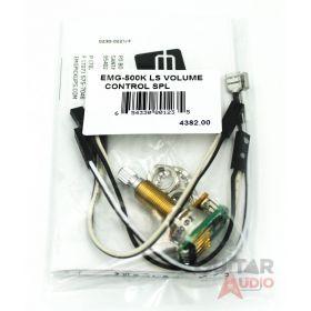 EMG 500k Long Shaft Solderless Volume Control SPLIT SHAFT Pot (4382.00)