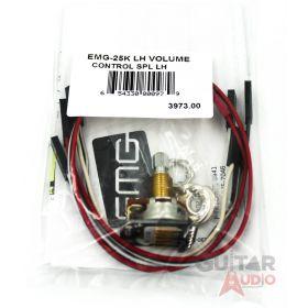 EMG 25k Solderless B122 Volume Left-Handed Control Pot Split Shaft (3973.00)