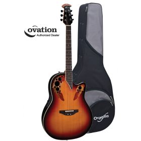 Ovation Standard Elite 2778AX Acoustic-Electric Guitar - New England Burst