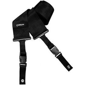 """DiMarzio 3"""" Clip Lock Nylon Quick Release Guitar Strap - BLACK, DD2800BK"""