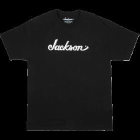 Jackson Guitars Logo Men's Tee T-Shirt, Black, XXL (2XL)