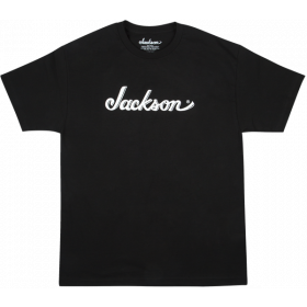 Jackson Guitars Logo Men's Tee T-Shirt, Black, SMALL (S)