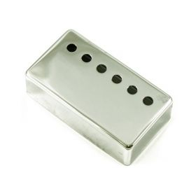 WD Music PCVC Vintage-Style Humbucker Guitar Pickup Cover - CHROME