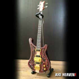 AXE HEAVEN Lemmy Signature Carved Bass MINIATURE Guitar Display Gift