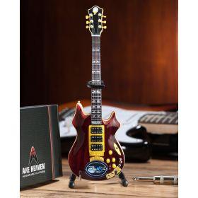 AXE HEAVEN Official Jerry Garcia Rosebud Tribute MINIATURE Guitar Display Gift